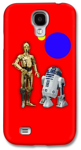 Star Wars C3po And R2d2 Collection Galaxy S4 Case