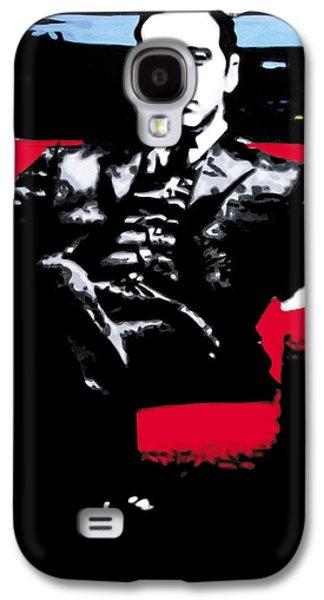 The Godfather Galaxy S4 Case by Luis Ludzska