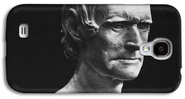 Statue Portrait Galaxy S4 Cases - Thomas Jefferson Galaxy S4 Case by Granger