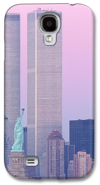 Usa, New York, Statue Of Liberty Galaxy S4 Case by Panoramic Images