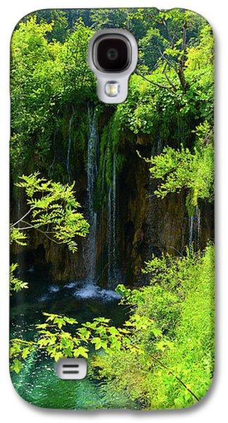 Waterfall In Plitvice National Park In Croatia Galaxy S4 Case