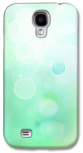 Colorful Abstract Galaxy S4 Cases - Abstract background Galaxy S4 Case by Les Cunliffe