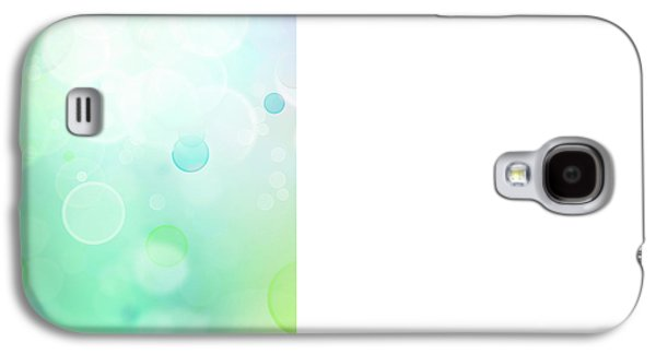 Colors Digital Galaxy S4 Cases - Abstract background Galaxy S4 Case by Les Cunliffe