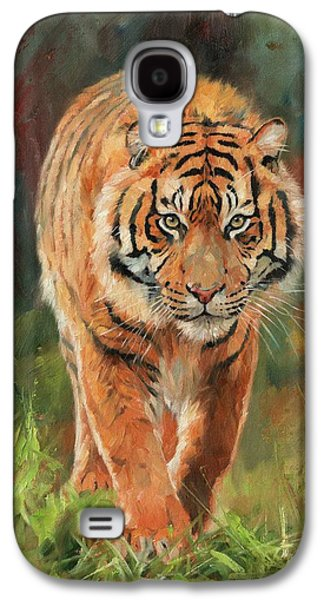 Amur Tiger Galaxy S4 Case by David Stribbling