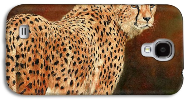 Cheetah Galaxy S4 Case by David Stribbling