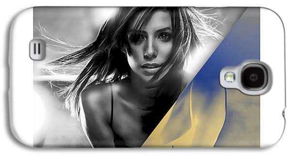 Eva Longoria Collection Galaxy S4 Case by Marvin Blaine