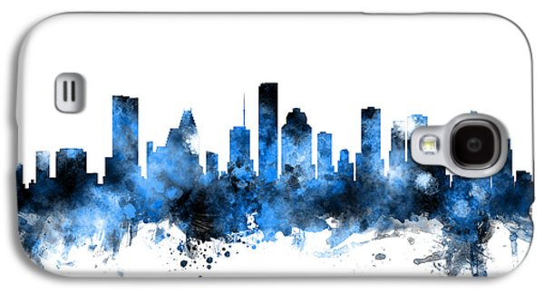 Houston Texas Skyline Galaxy S4 Case