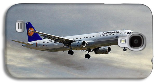 Jet Galaxy S4 Case - Lufthansa Airbus A321-131 by Smart Aviation