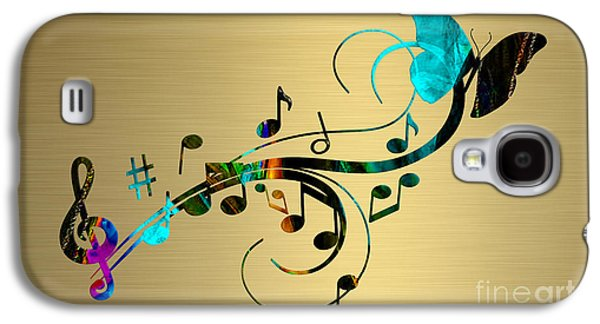 Music Flows Collection Galaxy S4 Case