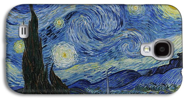 The Starry Night Galaxy S4 Case by Vincent van Gogh