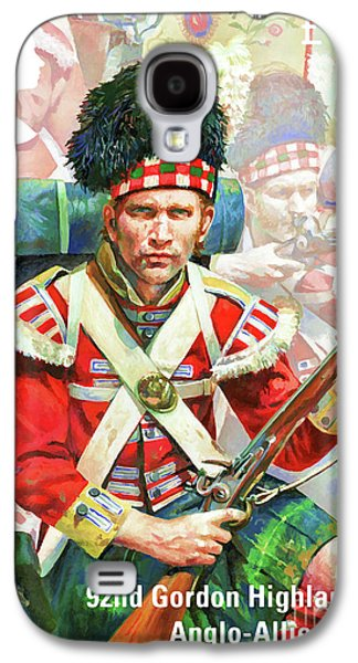 92nd Gordon Highlanders Galaxy S4 Case by Lanjee Chee