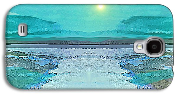 - 938 - Abstract Seascape - 2017  Galaxy S4 Case by Irmgard Schoendorf Welch