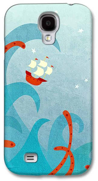 Boat Galaxy S4 Case - A Bad Day For Sailors by Nic Squirrell