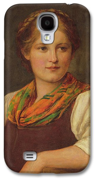 A Bavarian Peasant Girl Galaxy S4 Case