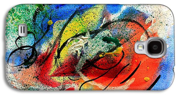 Subconscious Paintings Galaxy S4 Cases - A Beautiful Mind Galaxy S4 Case by Shakhenabat Kasana
