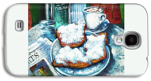 A Beignet Morning Galaxy S4 Case by Dianne Parks