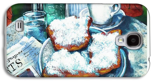 Food And Beverage Galaxy S4 Case - A Beignet Morning by Dianne Parks