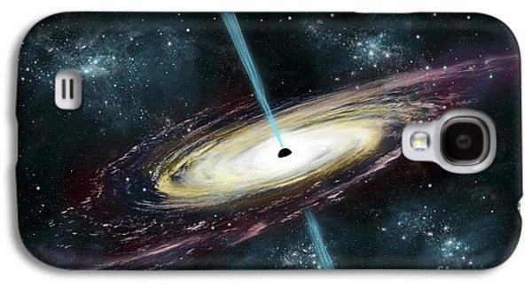 A Black Hole In Interstellar Space Galaxy S4 Case