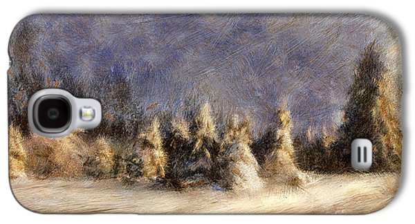 A Blizzard Of Light Galaxy S4 Case by Lois Bryan