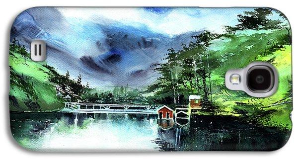 A Bridge Not Too Far Galaxy S4 Case by Anil Nene