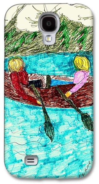 A Canoe Ride Galaxy S4 Case