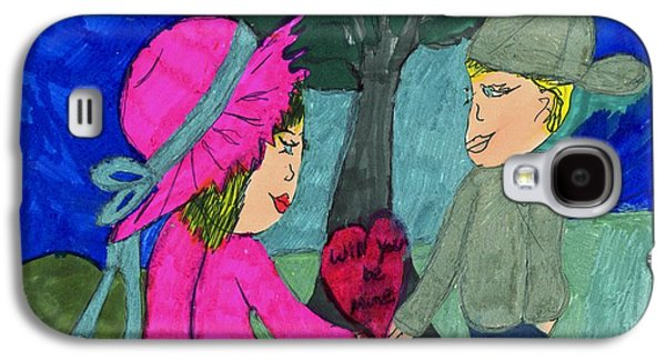 A Card For My Valentine Galaxy S4 Case