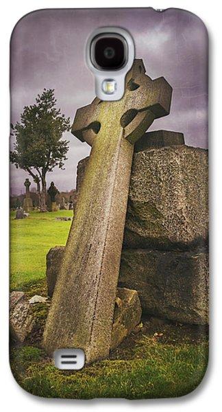 A Celtic Cross In Glasgow Scotland Galaxy S4 Case