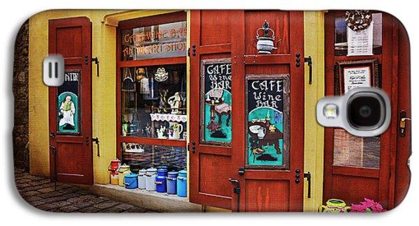 A Charming Little Store In Bratislava Galaxy S4 Case by Carol Japp