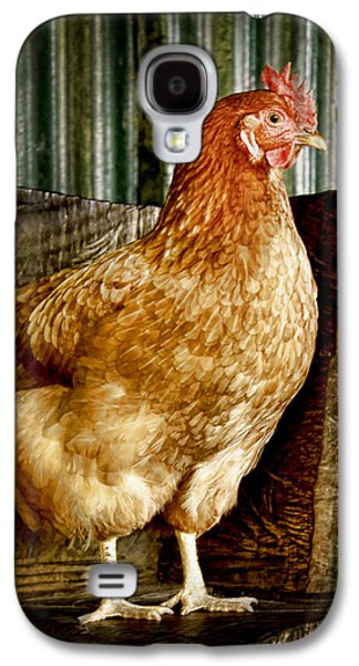 A Chicken Named Rembrandt Galaxy S4 Case by Holly Kempe