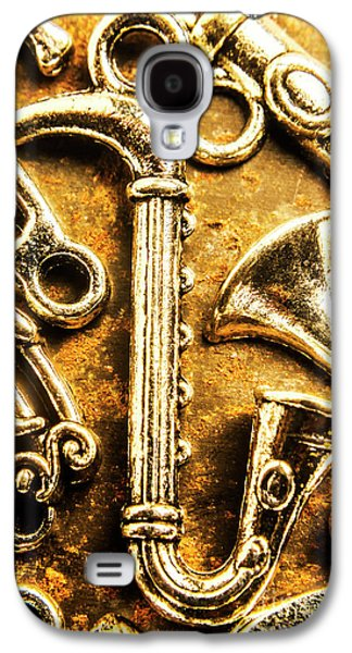 Saxophone Galaxy S4 Case - A Classical Composition by Jorgo Photography - Wall Art Gallery