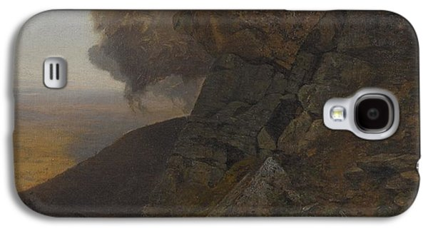 A Cliff In The Katskills Galaxy S4 Case by MotionAge Designs
