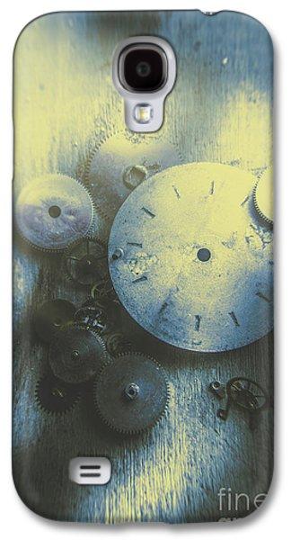 A Clockwork Blue Galaxy S4 Case by Jorgo Photography - Wall Art Gallery