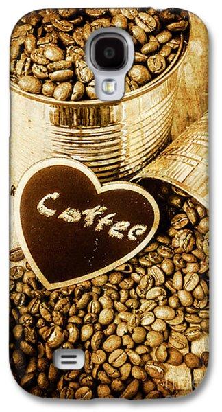 A Coffeehouse Romance Galaxy S4 Case