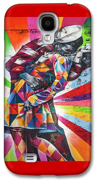 A Colorful Romance Galaxy S4 Case by Az Jackson