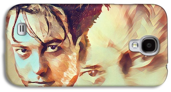 Robert Smith Music Galaxy S4 Case - A Cure For Everyone - Robert Smith by Robert Radmore