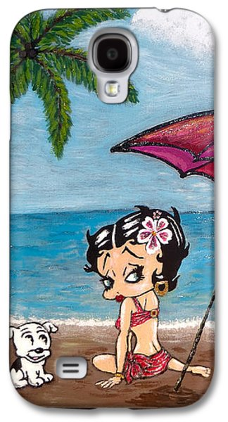 A Day At The Beach Galaxy S4 Case