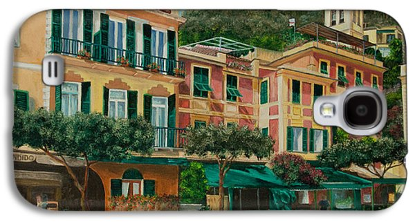 A Day In Portofino Galaxy S4 Case by Charlotte Blanchard