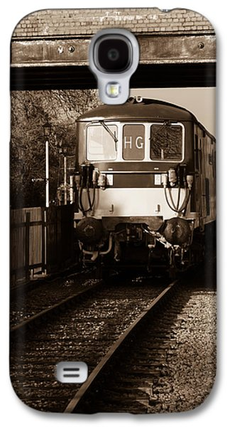 A Diesel Engine At Swindon And Cricklade Railway Galaxy S4 Case by Steven Sexton