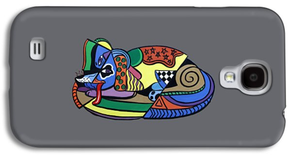 A Dog Named Picasso T-shirt Galaxy S4 Case by Anthony Falbo