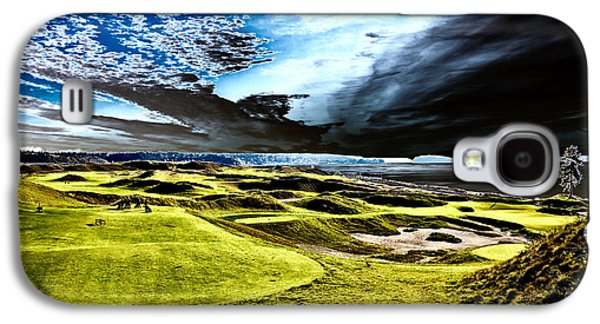 A Dramatic View On Hole 15 - Chambers Bay Galaxy S4 Case by David Patterson