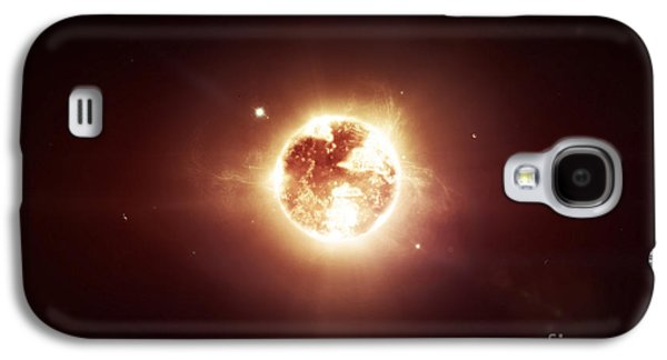 A Dying Star Which Will Soon Give New Galaxy S4 Case by Tomasz Dabrowski
