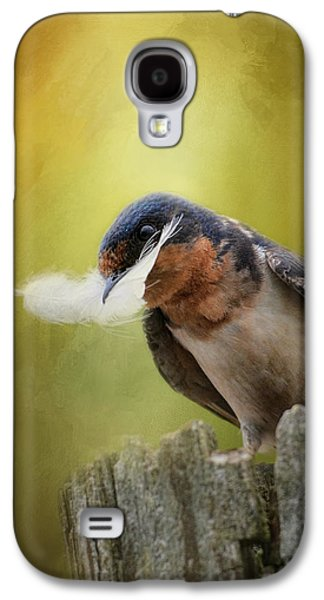 A Feather For Her Nest Galaxy S4 Case