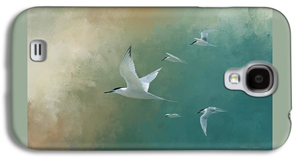 A Flight Of Terns Galaxy S4 Case by Marvin Spates