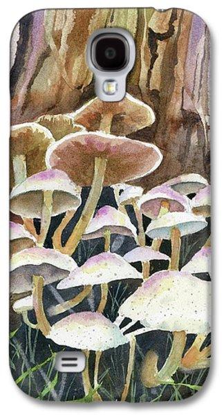 A Fungus Amongus Galaxy S4 Case by Marsha Elliott