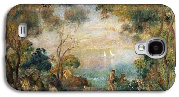 A Garden In Sorrento Galaxy S4 Case by Pierre Auguste Renoir