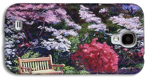A Garden Place Galaxy S4 Case by David Lloyd Glover