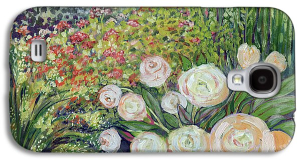 Impressionism Galaxy S4 Case - A Garden Romance by Jennifer Lommers