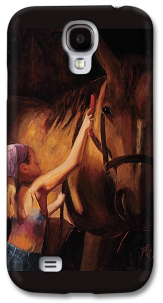 A Girls First Love Galaxy S4 Case by Billie Colson