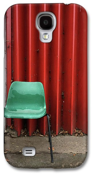 A Green Chair Galaxy S4 Case by Tom Gowanlock