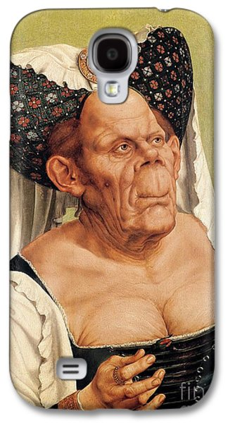 A Grotesque Old Woman Galaxy S4 Case by Quentin Massys